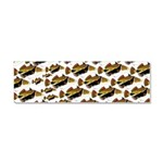 Humu Pattern Car Magnet 10 x 3