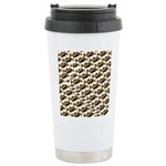 Humu Pattern Travel Mug