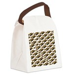 Humu Pattern Canvas Lunch Bag