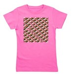 Humu Pattern Girl's Tee
