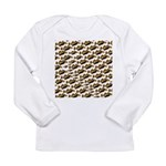 Humu Pattern Long Sleeve T-Shirt