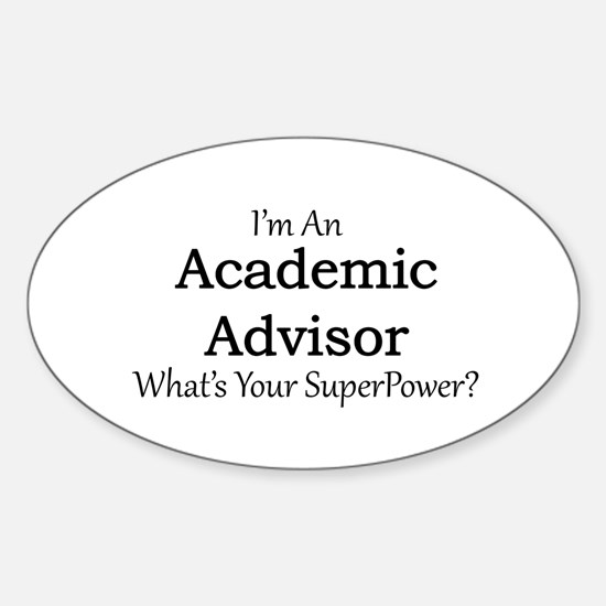 Academic Advisor Decal
