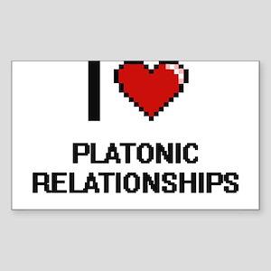 I Love Platonic Relationships Digital Desi Sticker