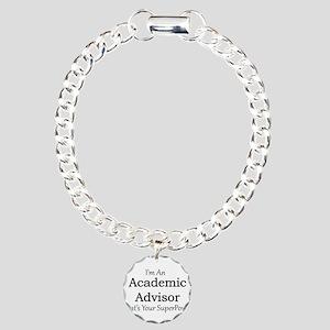 Academic Advisor Charm Bracelet, One Charm