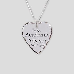Academic Advisor Necklace Heart Charm