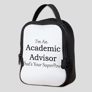 Academic Advisor Neoprene Lunch Bag