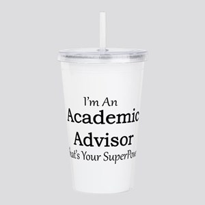 Academic Advisor Acrylic Double-wall Tumbler