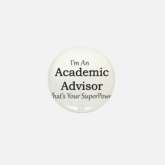 Academic Advisor Mini Button