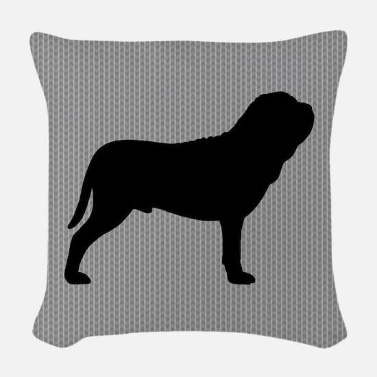 Neapolitan Mastiff Woven Throw Pillow
