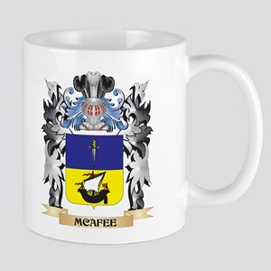 Mcafee Coat of Arms - Family Crest Mugs