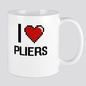 I Love Pliers Digital Design Mugs