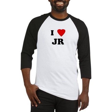 I Love JR Baseball Jersey