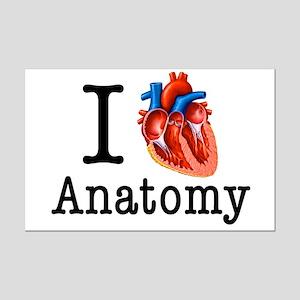 I love Anatomy Mini Poster Print
