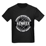 SIMPLE logo - transparent back T-Shirt