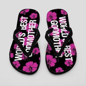 World's Greatest Godmother Flip Flops