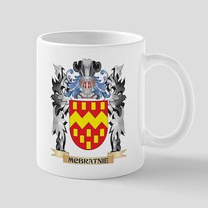 Mcbratnie Coat of Arms - Family Crest Mugs