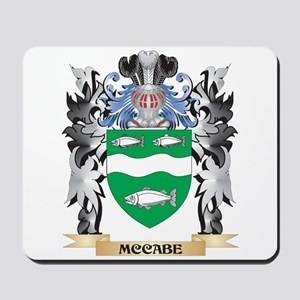 Mccabe Coat of Arms - Family Crest Mousepad