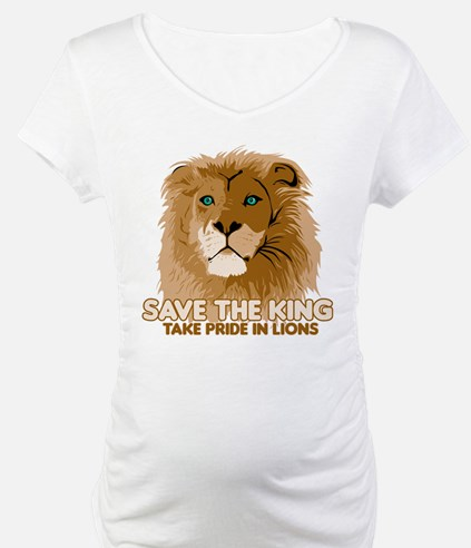 Lion Save the King Shirt