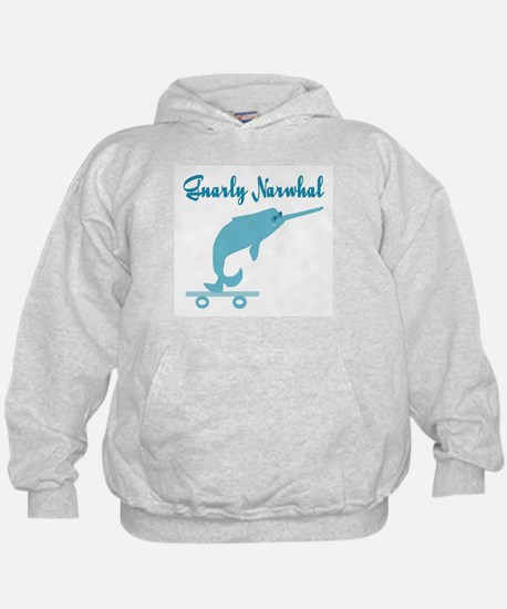 Gnarly Narwhal Hoodie