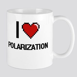 I Love Polarization Digital Design Mugs
