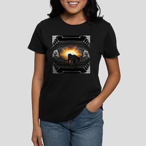 electric keyboard black panther T-Shirt