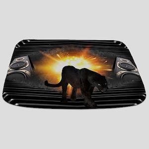 electric keyboard black panther Bathmat