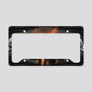 electric keyboard black panth License Plate Holder