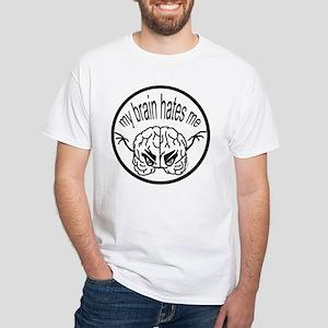 My Brain Hates Me Logo T-Shirt