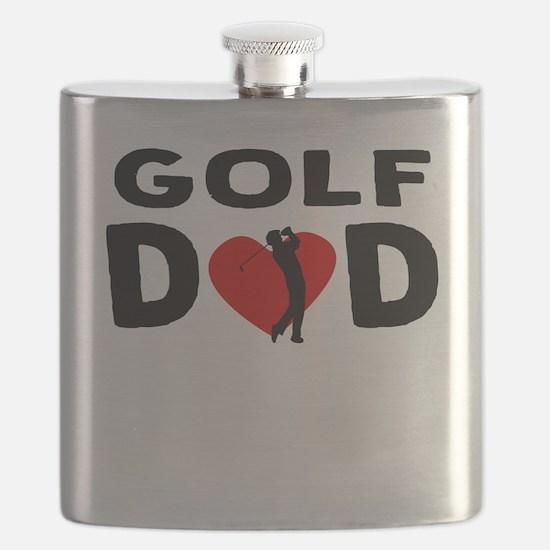 Golf Dad Flask