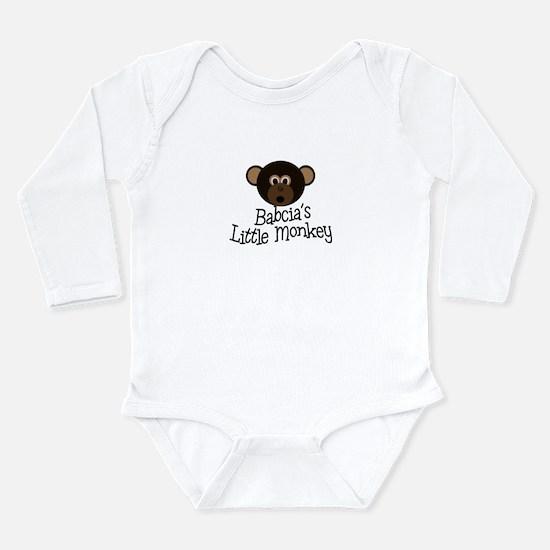 Abuela's Little Monkey BOY Infant Bodysuit Body Su