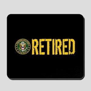 U.S. Army: Retired Mousepad