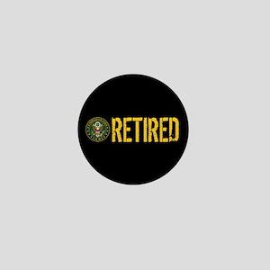 U.S. Army: Retired Mini Button