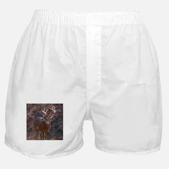 camouflage western country deer Boxer Shorts