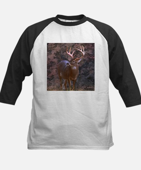 camouflage western country deer Baseball Jersey