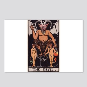 """""""The Devil"""" Postcards (Package of 8)"""