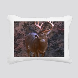 camouflage western count Rectangular Canvas Pillow