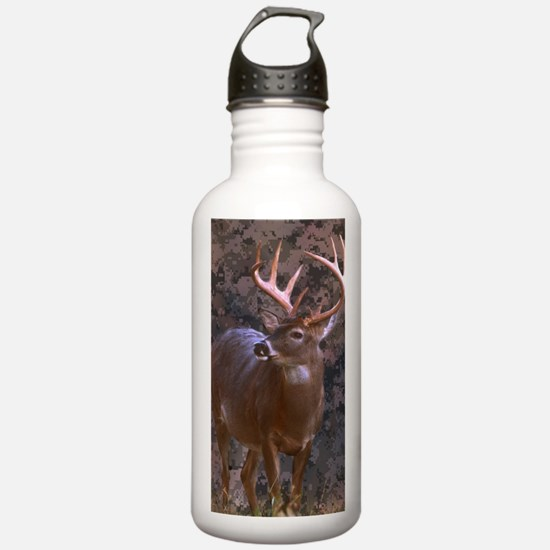 camouflage western cou Water Bottle