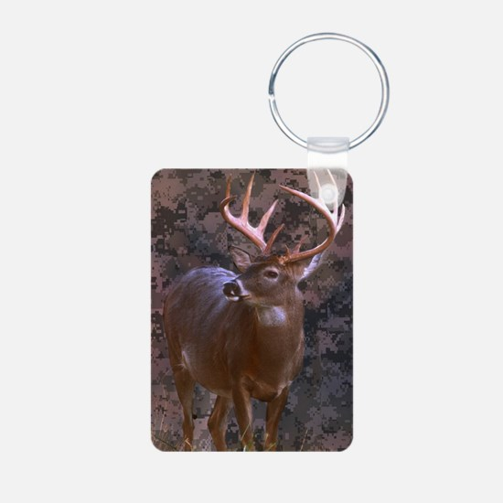 camouflage western country deer Keychains