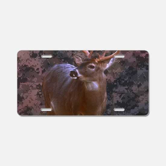 camouflage western country Aluminum License Plate