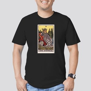 """The Empress"" Men's Fitted T-Shirt (dark)"