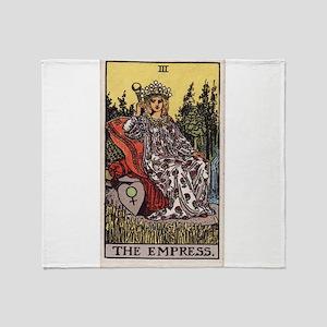 """The Empress"" Throw Blanket"