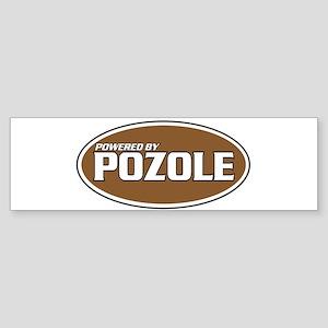 Powered By Pozole Bumper Sticker