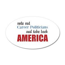 Career Politicians Wall Decal