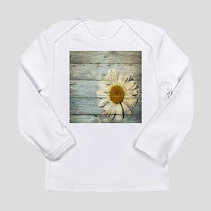 shabby chic country daisy Long Sleeve T-Shirt