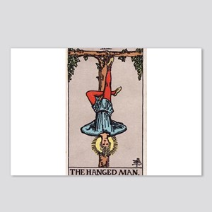 """""""The Hanged Man"""" Postcards (Package of 8)"""