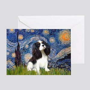 Starry Night Tri Cavalier Greeting Card