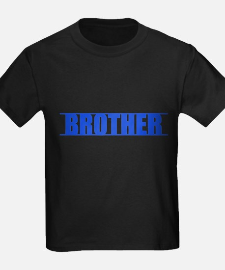 Blue Line Brother Kids T-Shirt