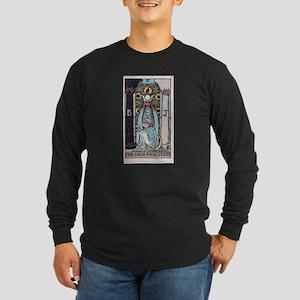"""The High Priestess"" Long Sleeve Dark T-Shirt"