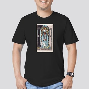 """The High Priestess"" Men's Fitted T-Shirt (dark)"