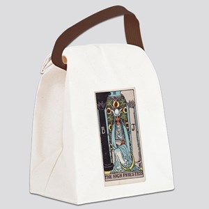 """The High Priestess"" Canvas Lunch Bag"
